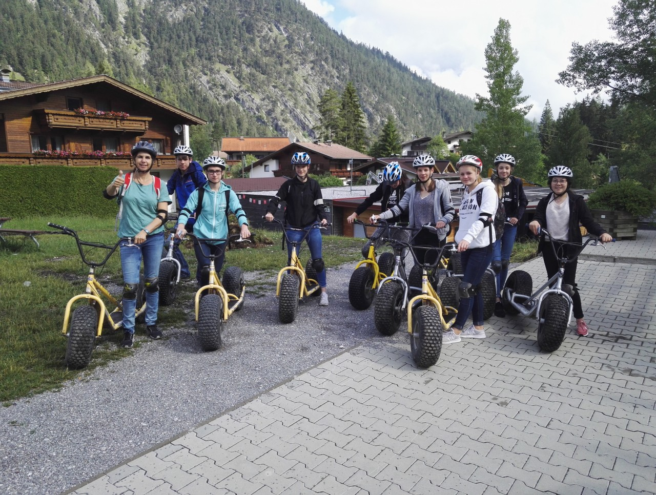 Mountainrollertour